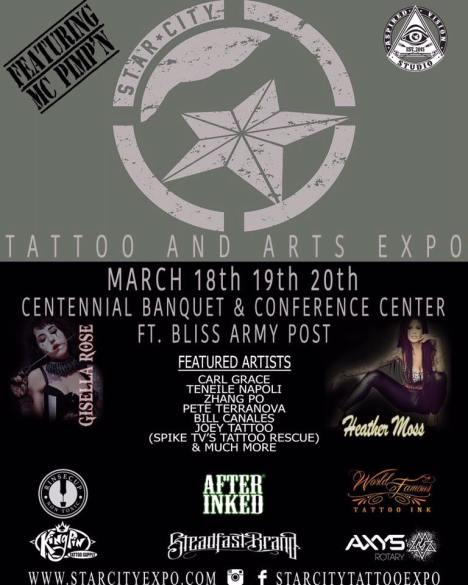 Starcity Tattoo Expo 2016 || Texas