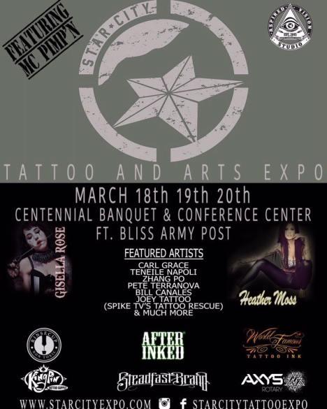 Starcity Tattoo Expo 2016    Texas