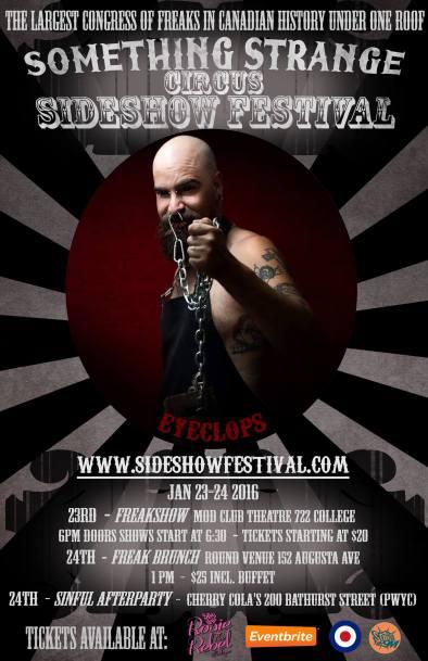 Something Strange Sideshow Festival - Gisella Rose