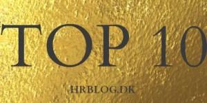 TOP 10 HRBLOG.DK @ Gitte Mandrup