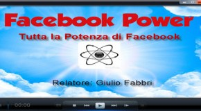 "Webinar Gratuito: ""Facebook Power"" (disponibile la registrazione, compila il form!)"