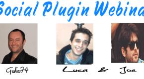 Social Plugin Webinar
