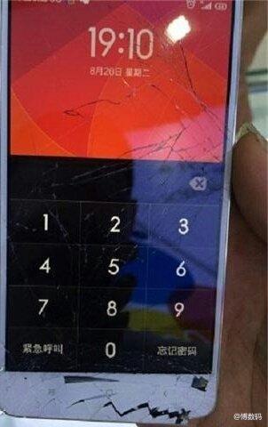Xiaomi Mi4 rotto