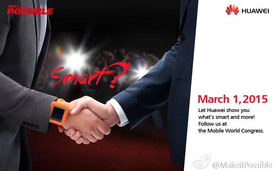 Huawei Watch pubblicità