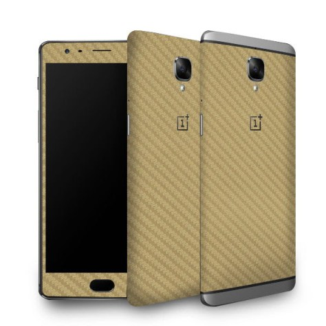 OnePlus 3 Carbon Fiber Skins Now Available In India