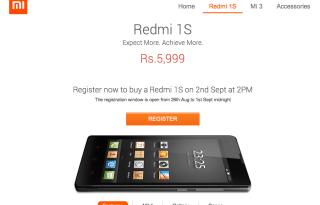 Xiaomi Redi 1S pre registration