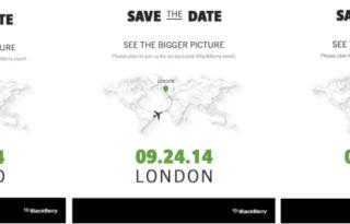 BlackBerry Passport launch date
