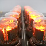 Nixie tube chess set glows without visible wires 9