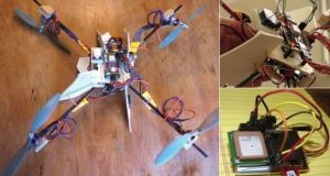 DIY Kid-tracking Drone