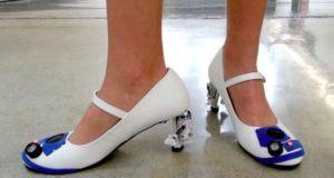 R2-D2 heels