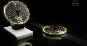 SOLARIS Digital Sundial Watch
