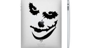 Joker iPad sticker