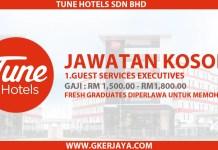 Jawatan Kosong Guest Services Executive