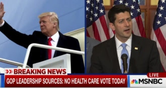 Breaking! GOP Healthcare Vote – Cancelled!
