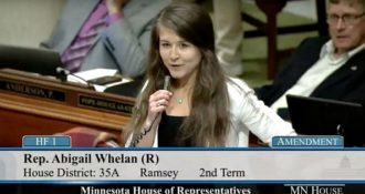 Minnesota Republican Shares Jesus with her Colleagues, Liberals Freak