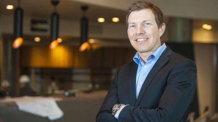 Øyvind Alapnes er hotelldirektør for Clarion Hotel The Edge i Tromsø.