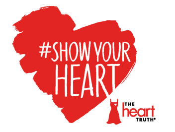 #ShowYourHeart Diet Coke Heart Truth