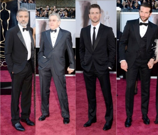 Best Dressed Men at 2013 Academy Awards