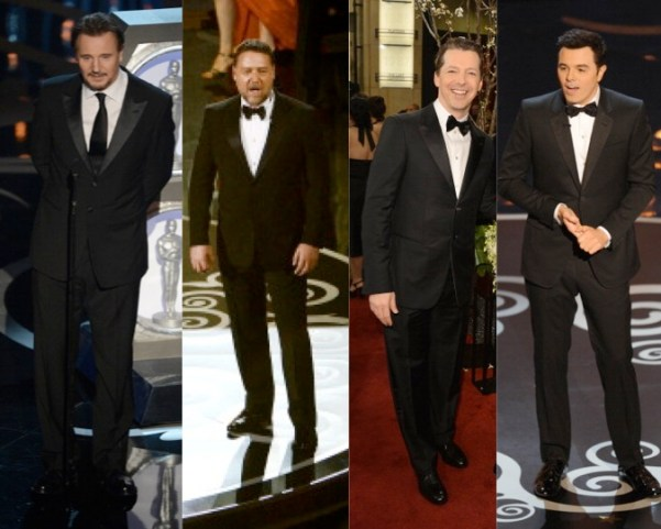 Best Dressed Men's Outfits at the 2013 Academy Awards