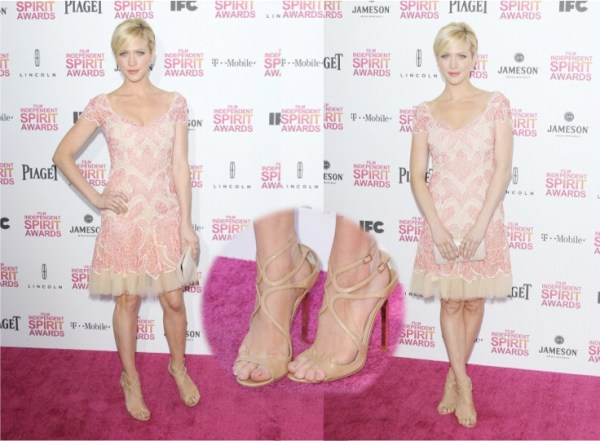 Brittany Snow in Naeem Khan 2013 Independent Spirit Awards