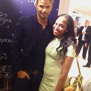 Kellan Lutz and Amber Dover GGB