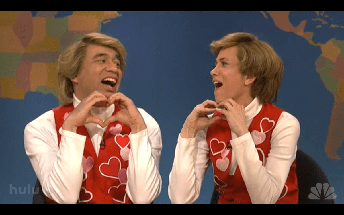 Happy Valentine's Day From Garth and Kat [VIDEO]