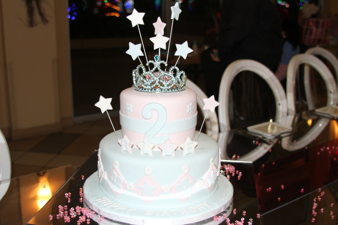 Blue Ivy Birthday cake