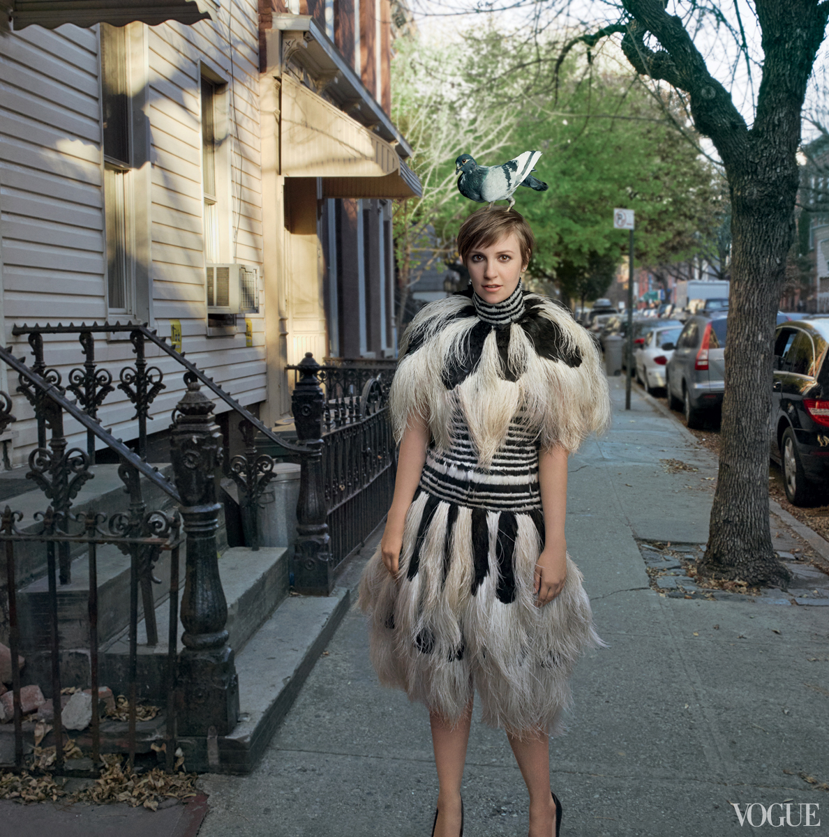 Lena Dunham for Vogue