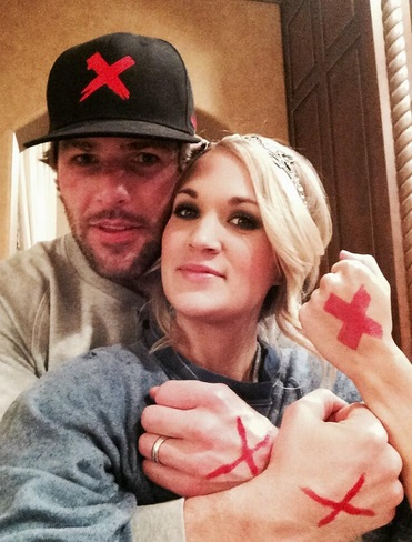 Baby bumpin 39 carrie underwood and mike fisher expecting for Mike fisher and carrie underwood baby