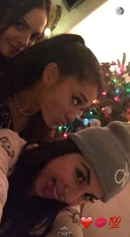 Liz Gillies, Ariana Grande, and Daniella Monet