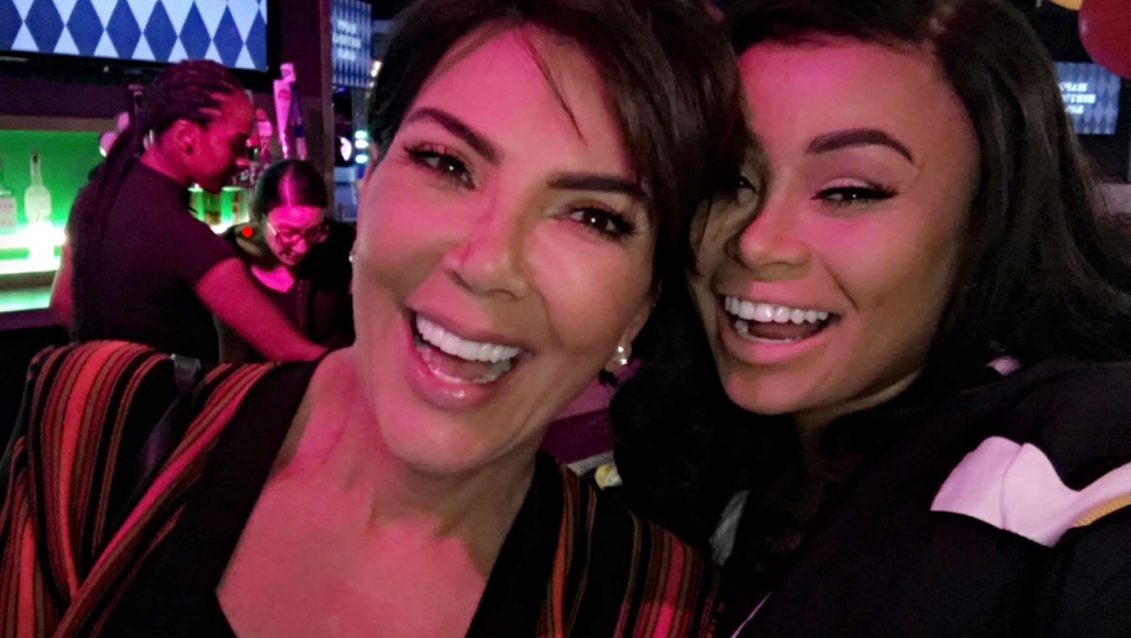 Blac Chyna and Kris Jenner