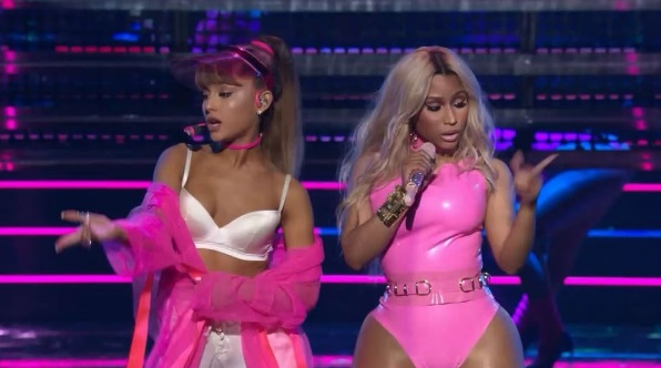 Ariana Grande Gives Soul Cycle Realness In 2016 VMA Performance