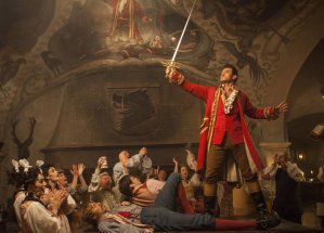 Luke Evans in Beauty and the Beast/ Photo:  Laurie Sparham
