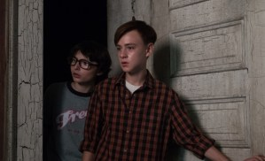 "Finn Wolfhard and Jaeden Lieberher in ""IT""/Photo: New Line Cinema"