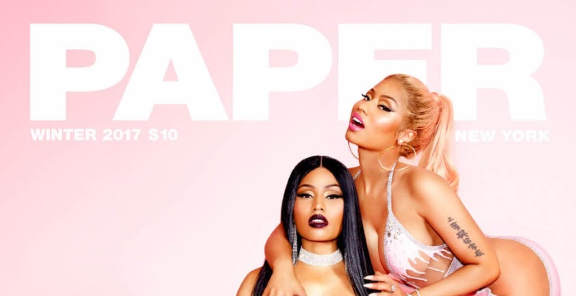 Nicki Minaj Breaks The Internet Times 3 Covering PAPER Magazine
