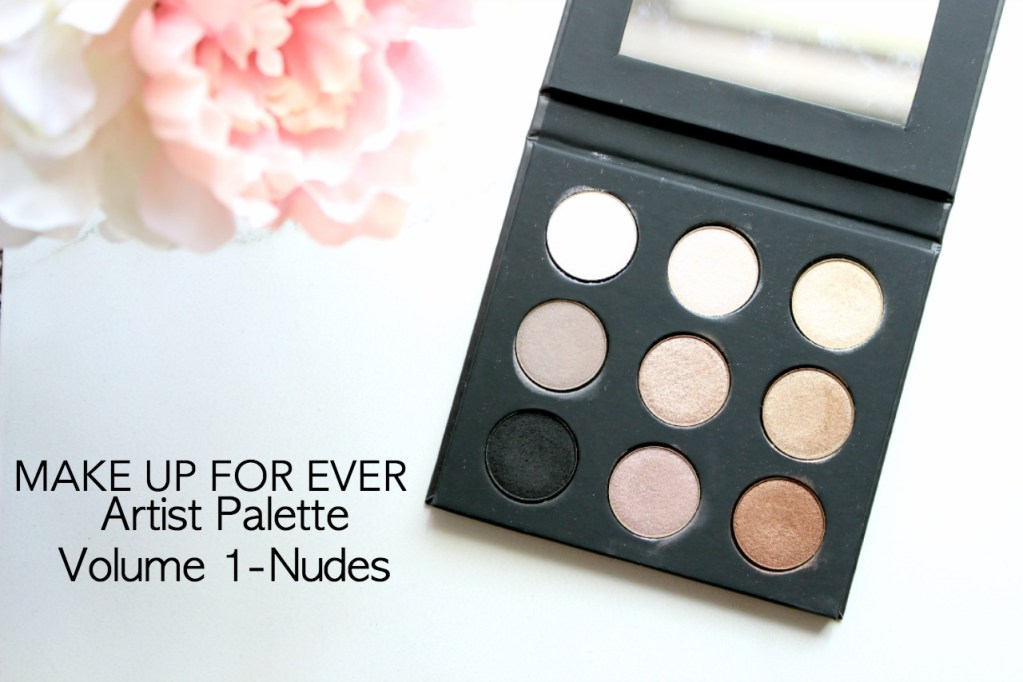 MAKE UP FOR EVER Artist Palette Volume 1 – Nudes You Need