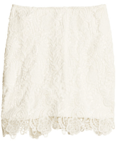 H&M Crochet Skirt