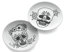 C&B Skeleton Plates