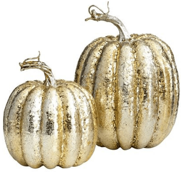 Pier1 Glitter Pumpkins