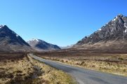 Our scenic drive through Scotland