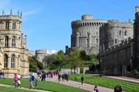 The grounds of the Windsor Castle