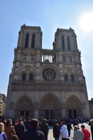 The enchanting Notre Dame Cathedral