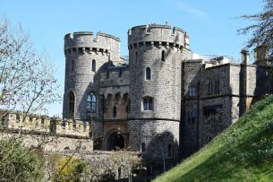 The Towers of the Windsor Castle