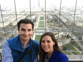 View from the top of the Eiffel Tower