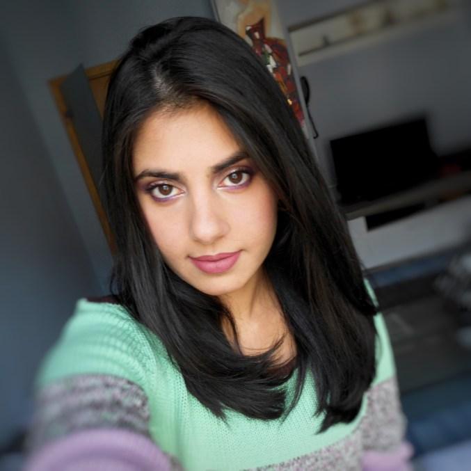 fall-purple-makeup-look