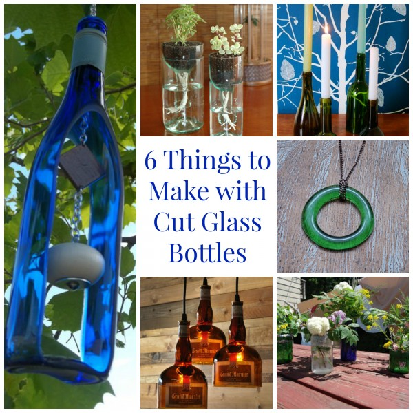 6 things to make with cut glass bottles glass art