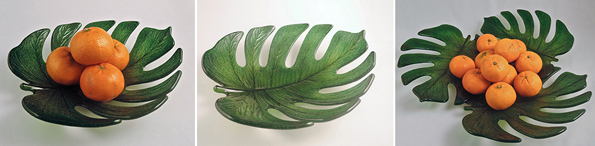 Another Cool New Mold from Colour de Verre Monstera