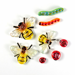 Let's Make Glass Bugs