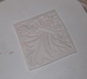 Texture Tile Bisque Fired