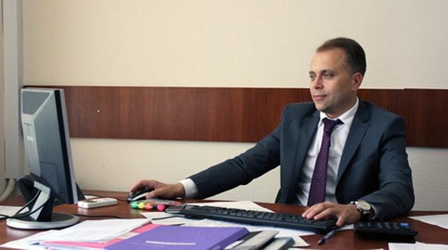 Начальник Головного управління ДФС у Вінницькій області Руслан Осмоловський